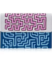 Mola Sasa Nacrus Puri Embroidered Clutch Bag
