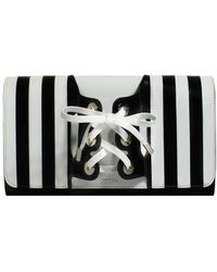 PERRIN Paris - Le Corset Striped Clutch Bag - Lyst
