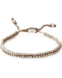 M. Cohen - Men's Two-row Stamped Beads Bracelet - Lyst