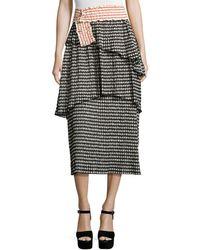 Rosie Assoulin - 3/4 Length Skirt - Lyst