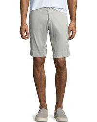 Kiton - Men's Twill Slim-straight Shorts - Lyst