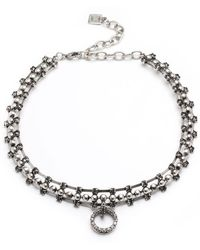 DANNIJO - Vixie Pearly Statement Necklace - Lyst
