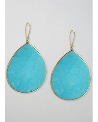 Ippolita - Turquoise Teardrop Earrings - Lyst