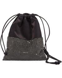 Alexander Wang - Ryan Mini Crystal Bucket Bag - Lyst