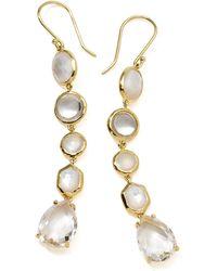 Ippolita - 18k Gold Rock Candy Gelato 5-tier Drop Earrings - Lyst
