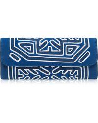 Mola Sasa Nibarka Embroidered Clutch Bag