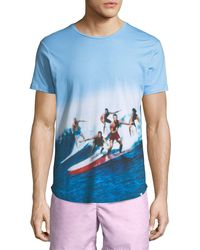 """Orlebar Brown - """"swell Guys"""" Photographic-print T-shirt - Lyst"""