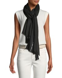 Loro Piana - Shadow Night Cashmere-blend Stole - Lyst