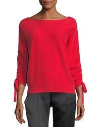 Joie - Dannee Boat-neck Wool-cashmere Jumper - Lyst