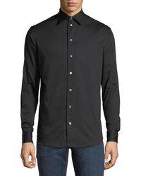 Emporio Armani - Basic Woven Sport Shirt - Lyst