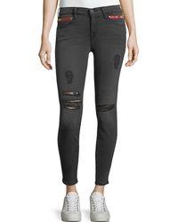 Etienne Marcel - Kendall High-waist Cropped Skinny Jeans - Lyst