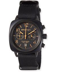 Briston - Clubmaster Classic Chronograph Watch - Lyst