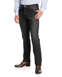 Kiton - Men's Washed Denim Jeans - Lyst