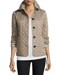 556387a43 Ashurst Classic Modern Quilted Jacket - Natural