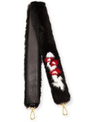 Prada - Mink Fur Bag Strap - Lyst