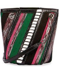 Proenza Schouler - Hex Mini Mixed-media Bucket Bag - Lyst