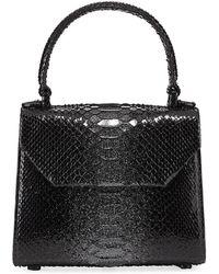 Nancy Gonzalez - Python Small Top-handle Crossbody Bag - Lyst