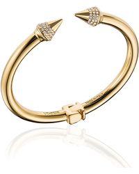 Vita Fede - Mini Titan Crystal Cuff Bracelet - Lyst