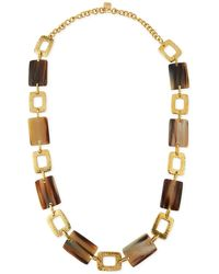 Ashley Pittman - Bustani Light Horn Link Necklace - Lyst