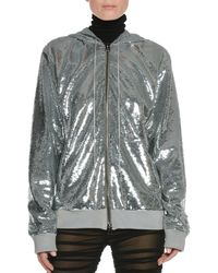 Tom Ford - Zip-front Hooded Sequin Jacket - Lyst