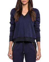 Koral - Solitude Gravity V-neck Pullover Sweatshirt - Lyst