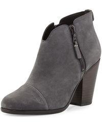 Rag & Bone - Margot Nubuck Leather Ankle Boot - Lyst
