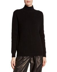 Tom Ford - Cashmere Large-ribbed Mock-neck Sweater - Lyst