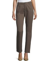 Lafayette 148 New York - Thompson Elliptical Jacquard Slim-leg Jeans - Lyst