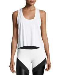 Lanston - Tie-back Athletic Muscle Tank - Lyst