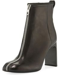 Rag & Bone - Ellis Zip-front Leather Ankle Boot - Lyst