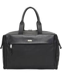 Bally Men's Volkwin Nylon/leather Weekender Bag - Black