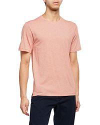 Vince - Men's Feeder Stripe Crewneck T-shirt - Lyst