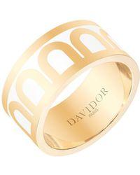 Davidor L'arc De 18k Gold Ring - Grand Model - Metallic