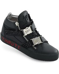 22c5ceeb1 Giuseppe Zanotti - Men s Limited Edition Tribute To Michael Jackson High-top  Sneakers - Lyst