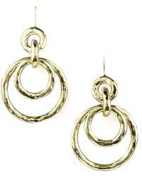 Ippolita Glamazon Jet-set Earrings, Mini - Metallic
