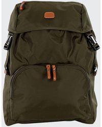 Bric's Olive X-bag Excursion Backpack - Green
