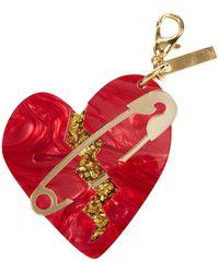 Edie Parker - Broken Heart Bag Charm - Lyst