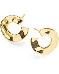 Ippolita - 18k Senso & #153 Open Wavy Disc Earrings - Lyst