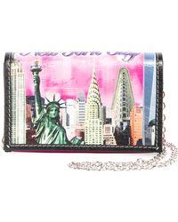 Balenciaga | Bazar London-print Leather Shoulder Bag | Lyst
