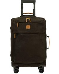 """Bric's Life Tropea 21"""" Spinner Luggage - Green"""