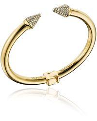 Vita Fede - Mini Titan Hinged Crystal Bracelet - Lyst