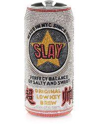 Judith Leiber Slay Beverage Can Pill Box - Multicolour