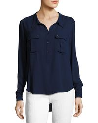 AG Jeans - Nevada Henley Pullover Shirt - Lyst