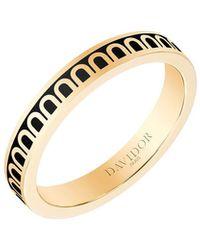 Davidor L'arc De 18k Gold Ring - Petite Model - Metallic