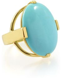 Ippolita - 18k Polished Rock Candy Large Turquoise Ring - Lyst