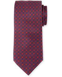 Brioni - Box-print Silk Tie - Lyst