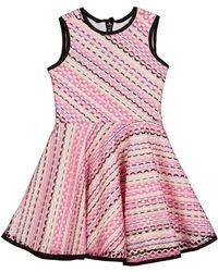Zoe - Hadley Crochet Swing Dress - Lyst