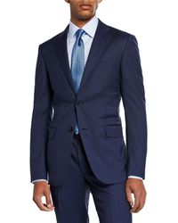 Ermenegildo Zegna - Men's Bead Striped Two-piece Wool Suit - Lyst