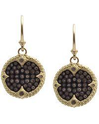 Armenta - Old World Ombré Diamond Drop Earrings - Lyst
