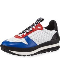 Givenchy - Tr3 Color-blocked Leather Sneakers - Lyst